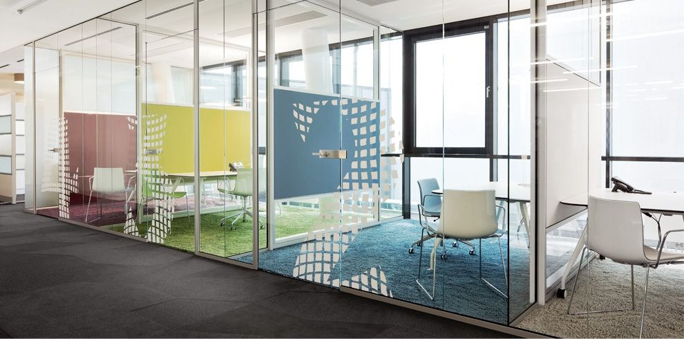 amusing create design office space. The Use Of Glass Provides Maximum Transparency In Office Space. Formal Minimalist RG Wall Retracts And Supp Amusing Create Design Space N