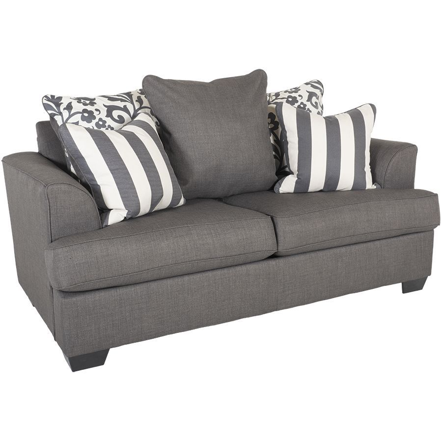 Levon Charcoal Loveseat Ll 734 L With Images Charcoal Loveseat