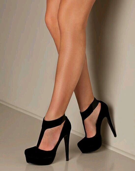 Women Pumps Fashion Platform Peep Toe Matte Leather Buckle