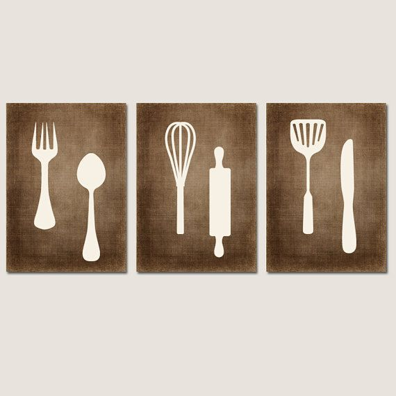 Canvas Or Prints Utensil Wall Decor