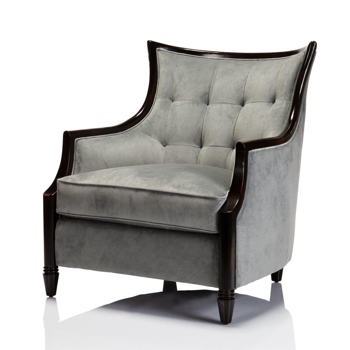 Washington Timber Framed Chair Colour Ocean - Max Sparrow