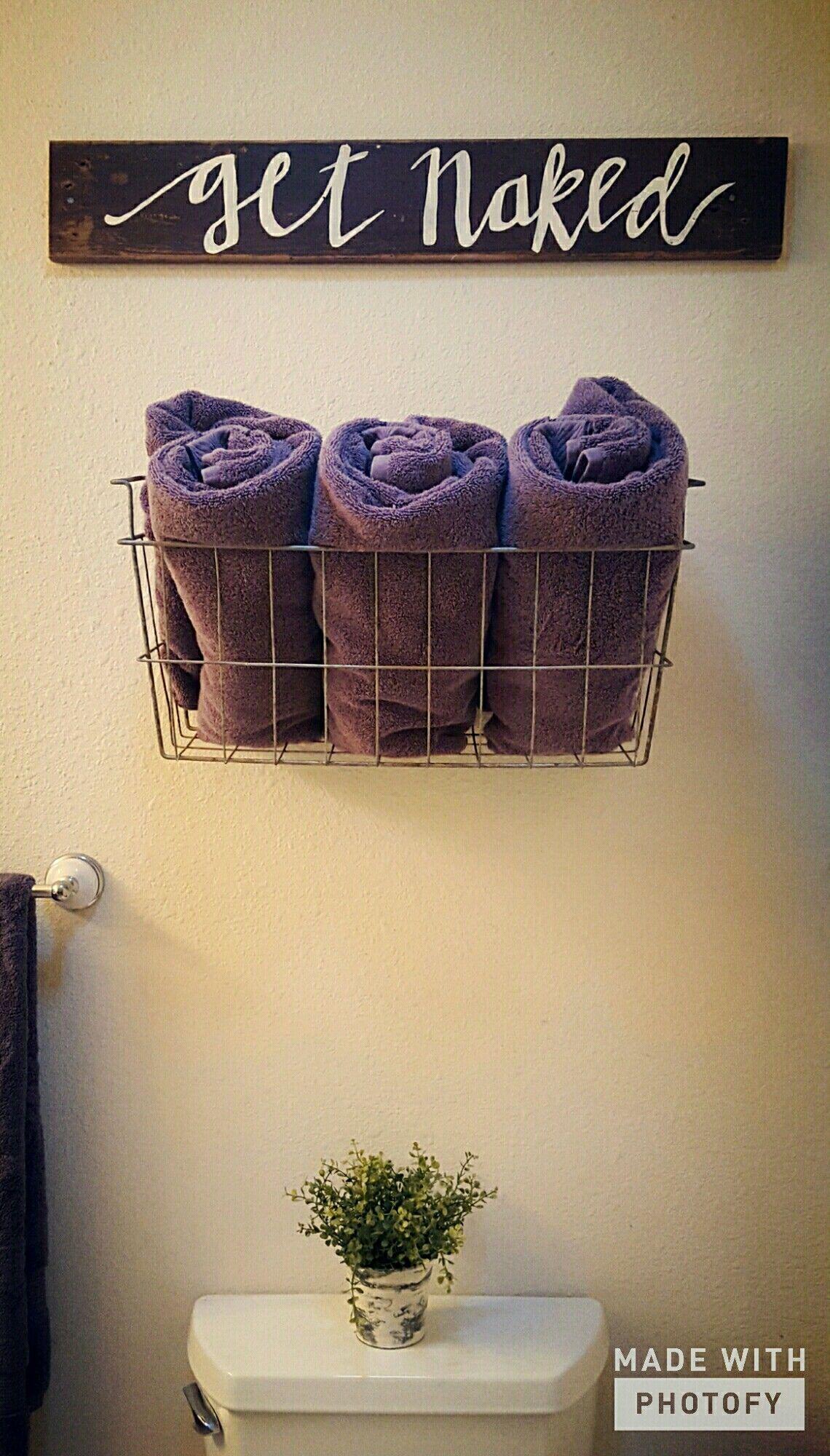 Get naked bath decor #diy #handmade #kaylynnskreations | Herriman ...