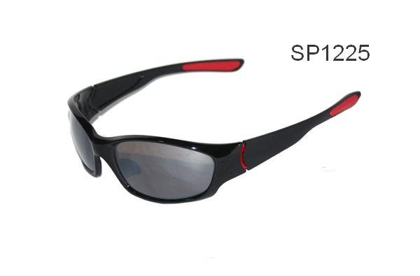 caf529613df sp1225 wrap around black tennis sports sunglassesLucky Birdz ...
