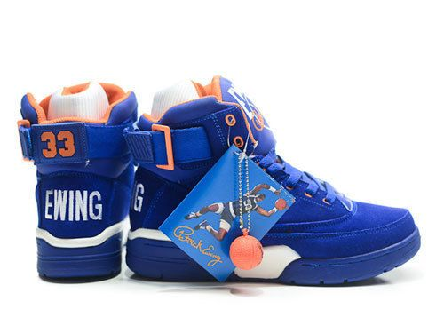 Ewing Athletics 33 Hi Royal Blue Suede