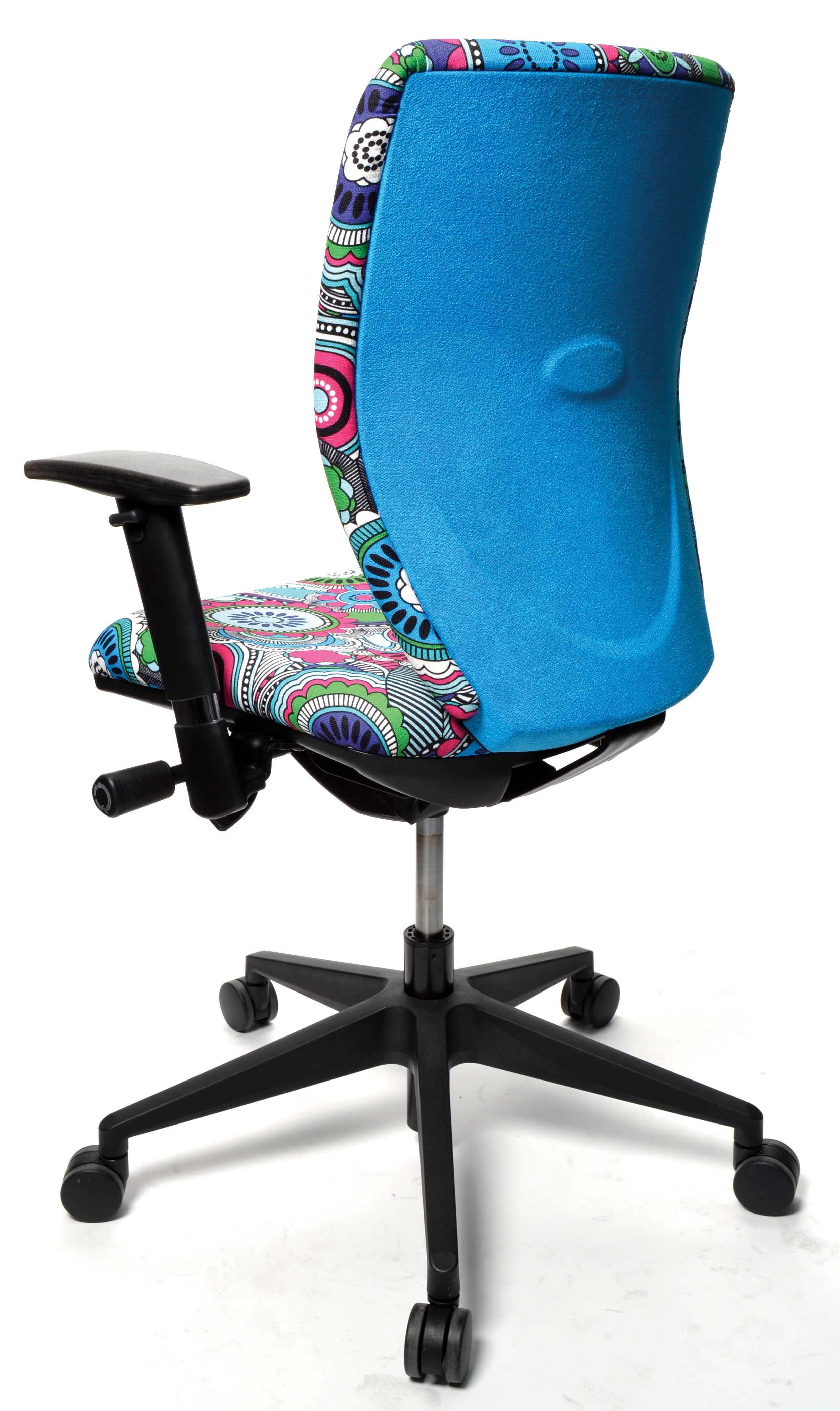 Holiday Isle And Ashcroft Fabrics On Fuze Interiors U0027Extremeu0027 Chair.