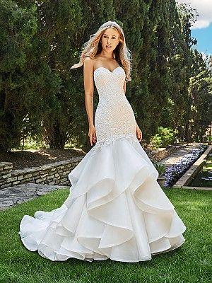 Drop Waist Mermaid Wedding Dress