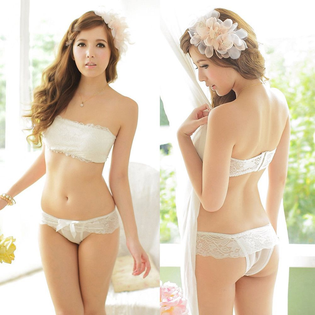 d5687fe8f41b0 Sexy Lace Tube Top Blouse Bandeau