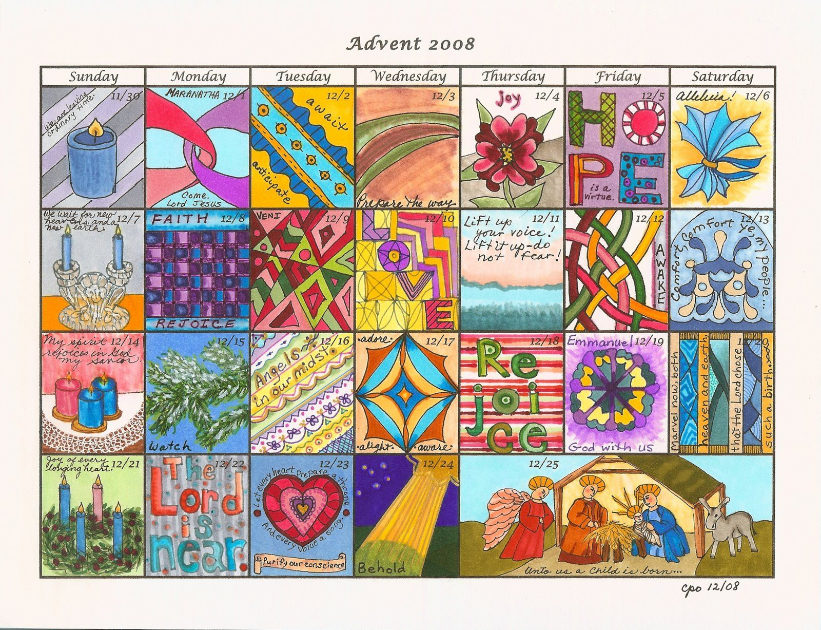 Advent Thoughtfulness With Images