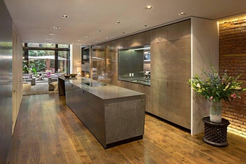 Dise o de interiores arquitectura hermosa casa restaurada con aire de c lida elegancia y un Kitchen design for village