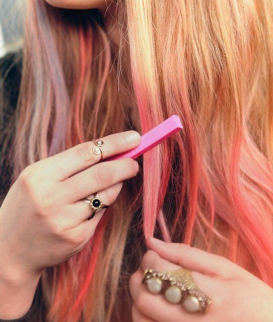 Ombre Hair Chalk.