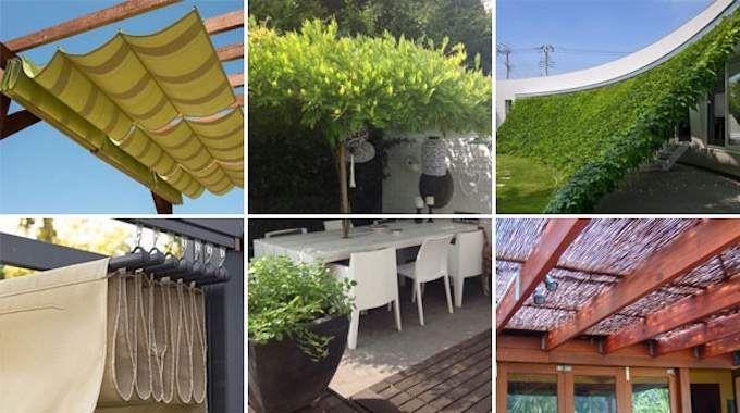 16 Idées Magnifiques Pour Faire De Lu0027Ombre Sur Votre Terrasse Facilement.    JARDINAGE   Patio, Outdoor Shade Et Pergola Lighting