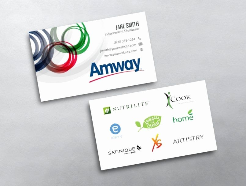 Amway Business Cards Best Of Design Amway Business Cards Vistaprint Card Design And Card Template Amway Amway Business Free Business Card Templates