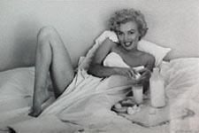 Marilyn Monroe Gets Spoiled With Breakfast In Bed Measures 23 X 35 Marilyn Monroe Poster Marilyn Monroe Marilyn