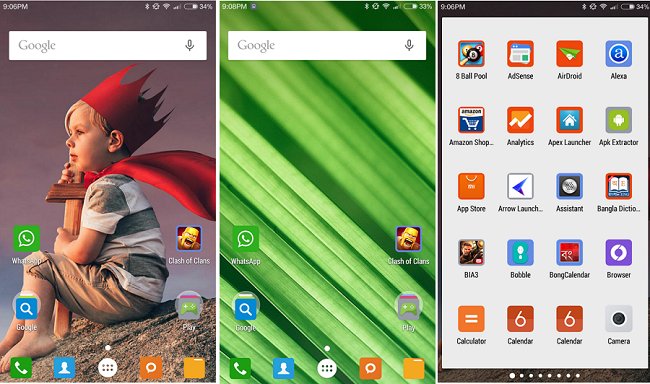 MIUI 7 Launcher Theme APK- Free Download for Android