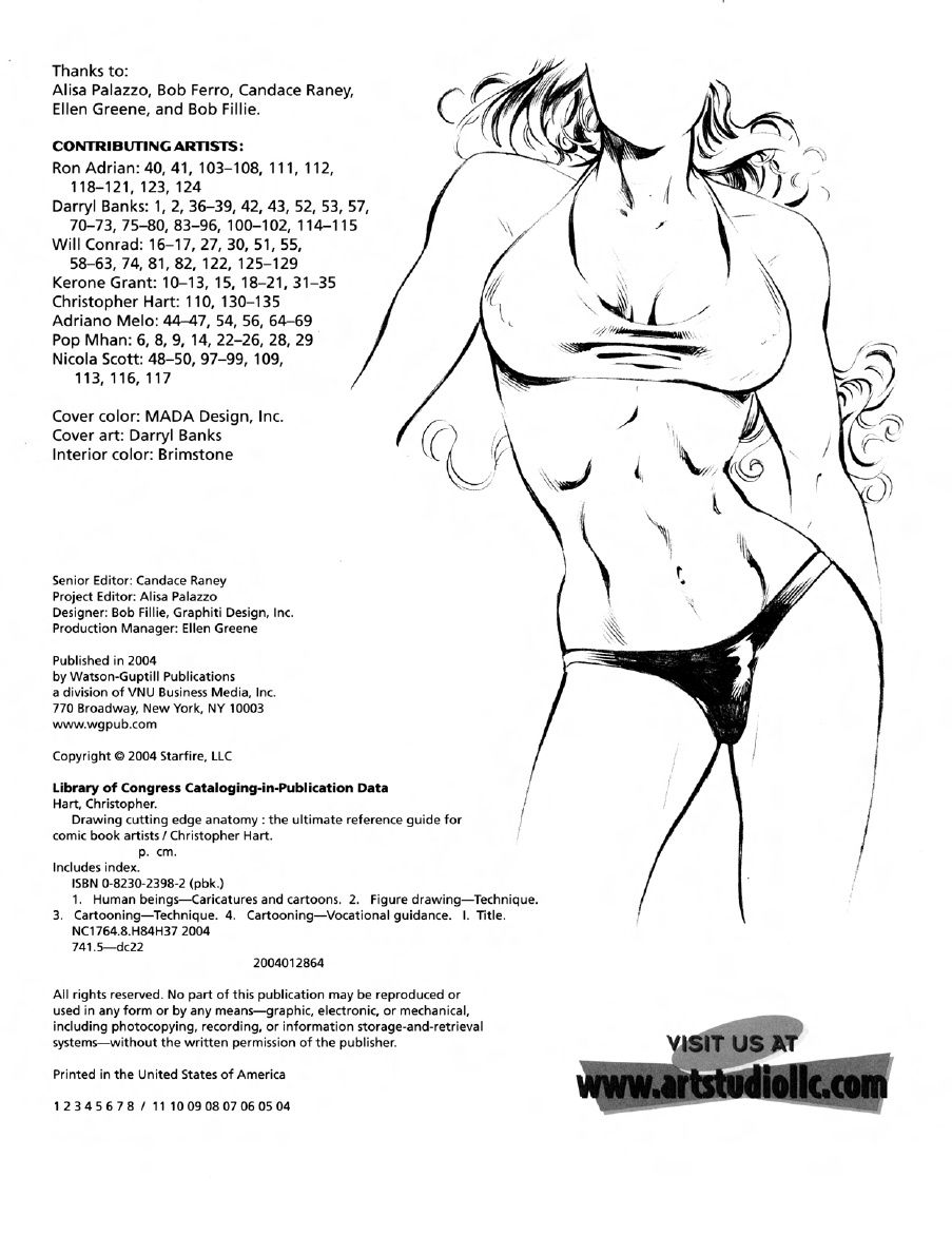 drawing cutting edge anatomy the ultimate reference for comic book ...