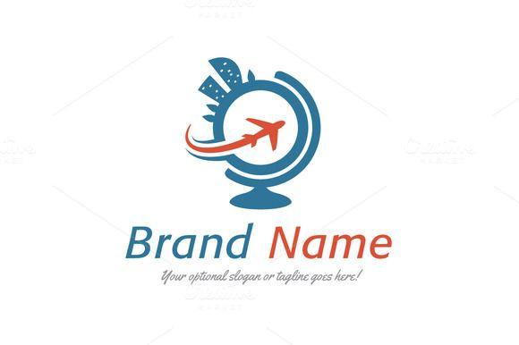 Resorts Of The World Logo Travel Agency Logo Tourism Design Logo Design