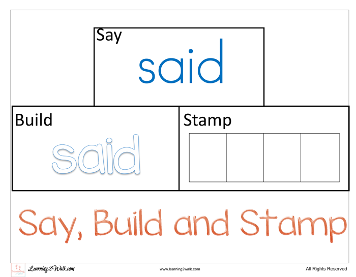 My daughter is now working on her sight words to help her i my daughter is now working on her sight words to help her i created some free preschool sight word worksheets for the word said ibookread PDF