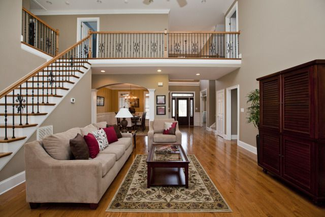 gallery for > nice two story houses inside | future house