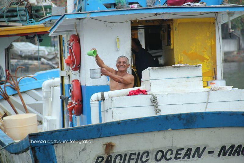 olhar de marujo feliz...