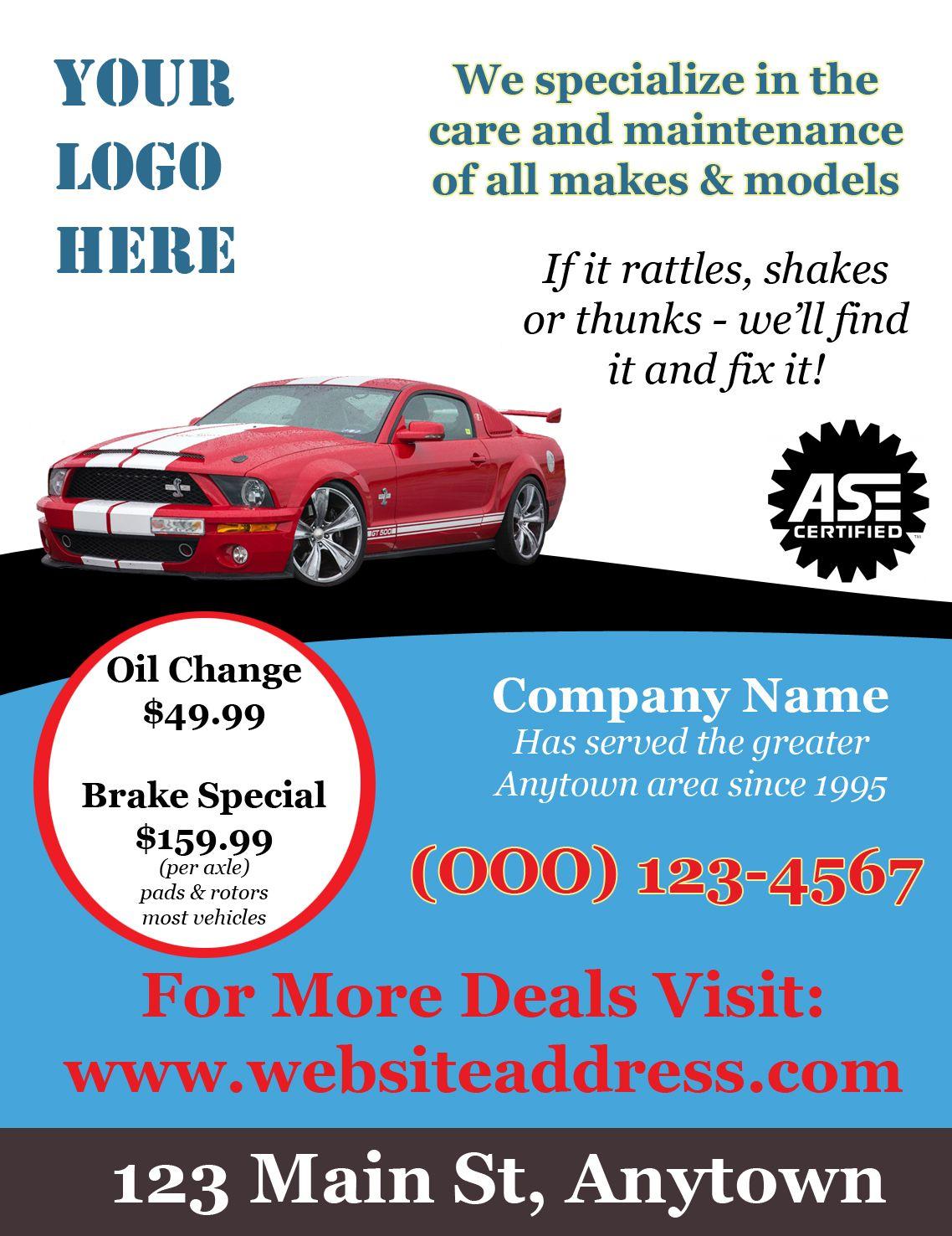 Sample Car Ad