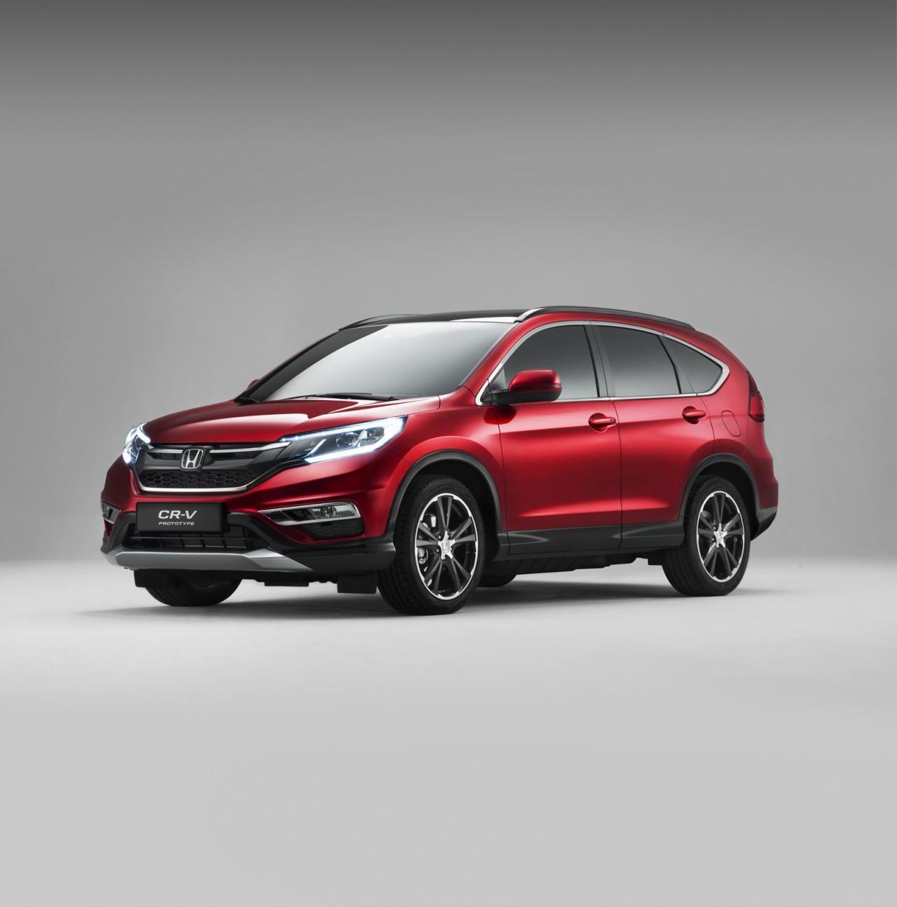 2015 Honda CR-V in European specification