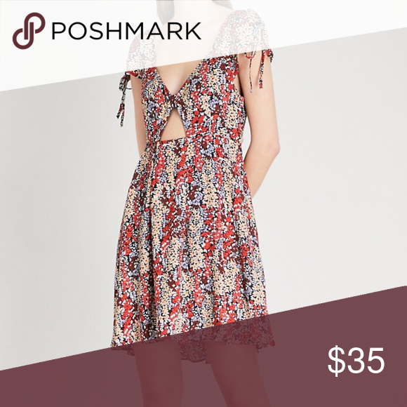 3c60061d0163 Free People Miss Right V-neck Floral-print Dress . Free People Dresses