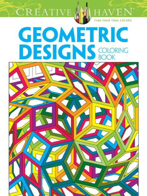 Geometric Designs Coloring Book By John Wik Jeremy Elder Hop David Von Thenen