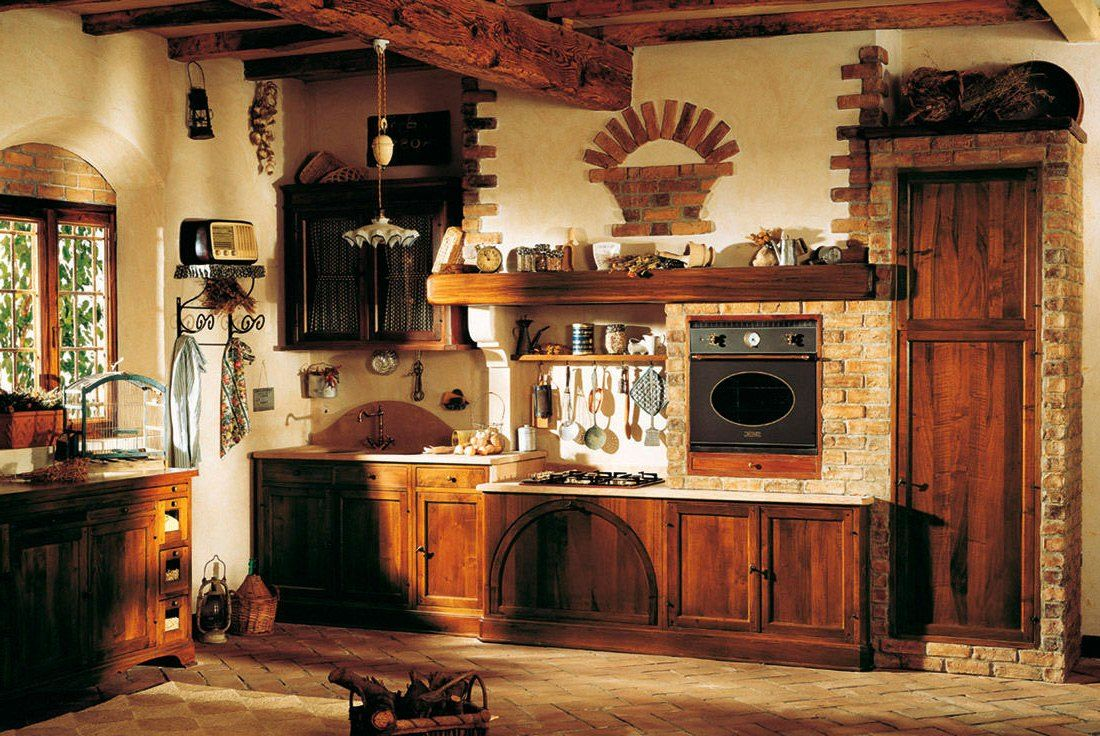 Kitchen Old Fashioned Kitchen as Memorable Spot at Home Antique