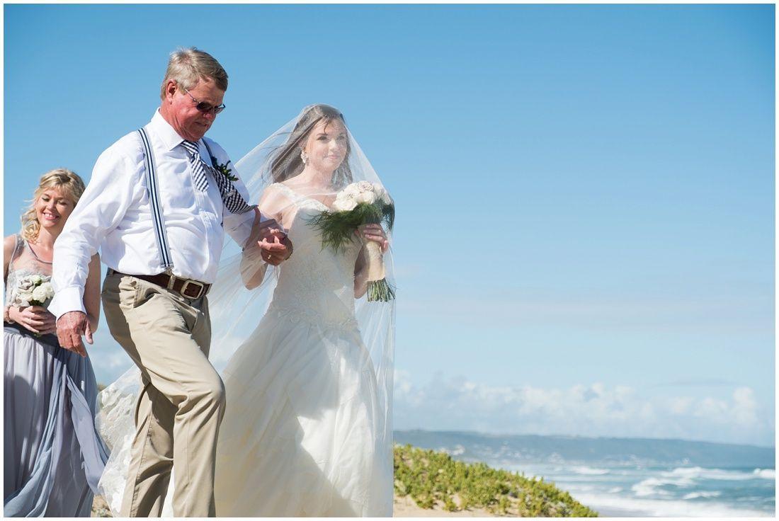Teal beach wedding  gardenroutemosselbaybeachweddingianandmarissaceremony