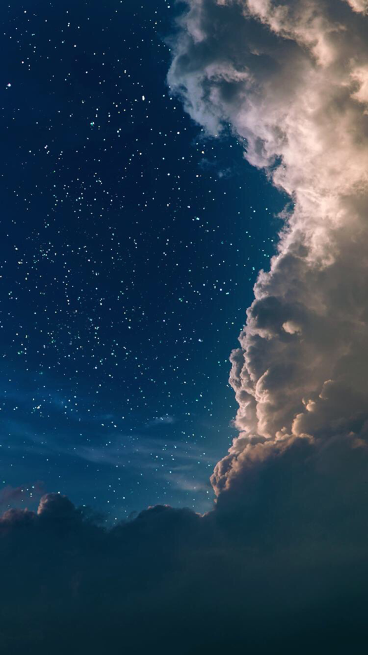 Magic Sky Wallpaper For Iphone And Android Night Skies Beautiful Sky Sky And Clouds