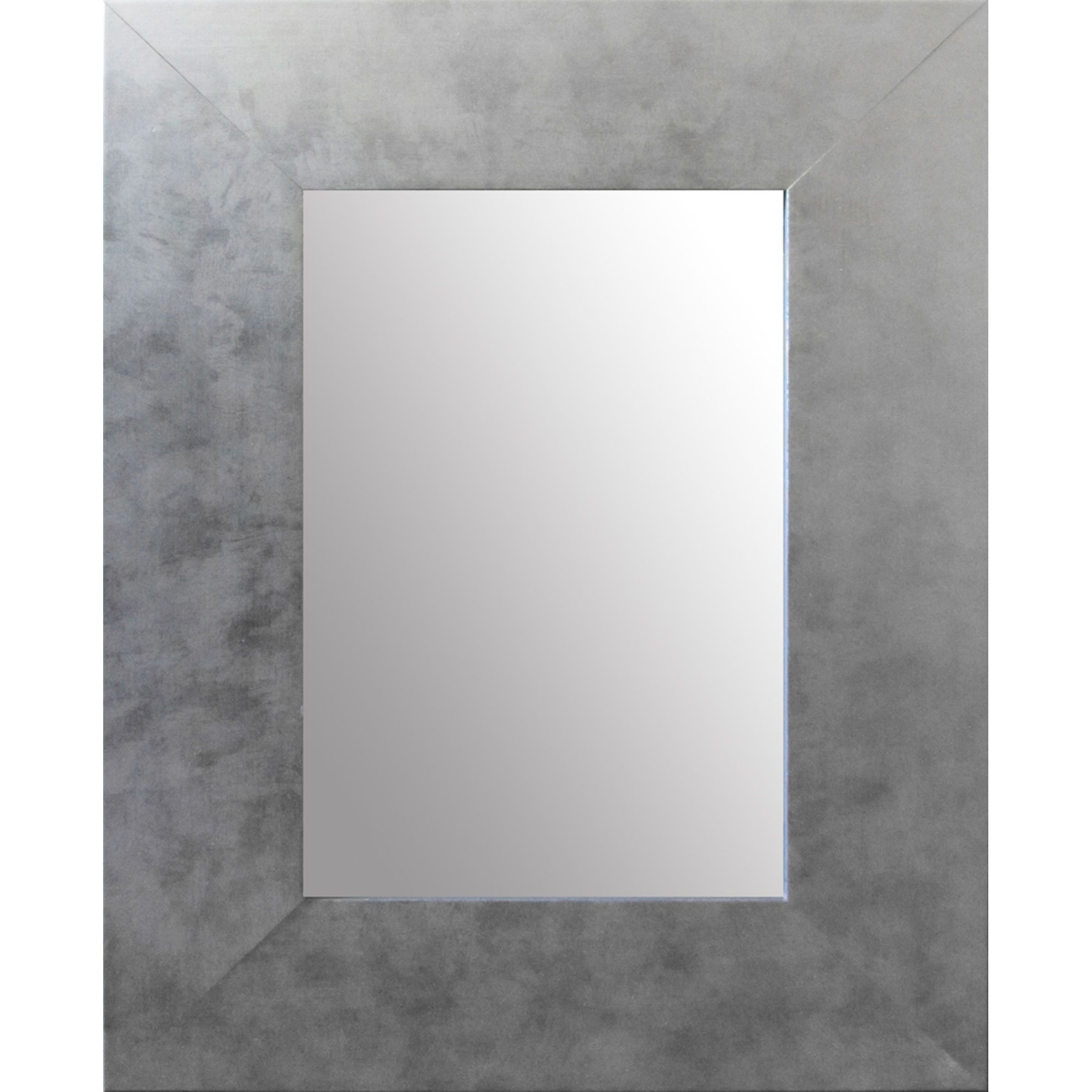 Leroy Merlin Specchi Da Parete.Specchio Da Parete Rettangolare Osakan Argento 68 X 96 Cm