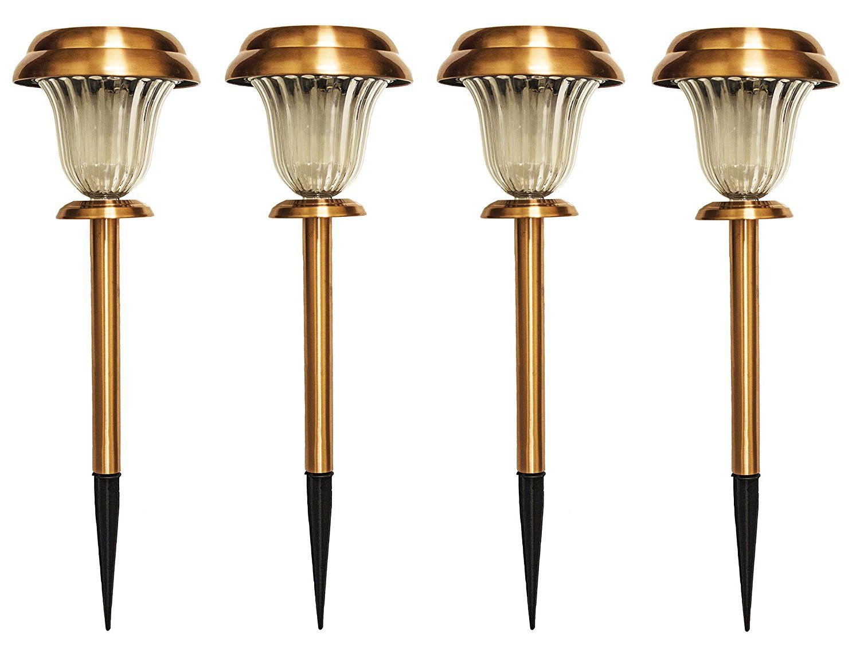 Find the best online copper bronze solar garden lights