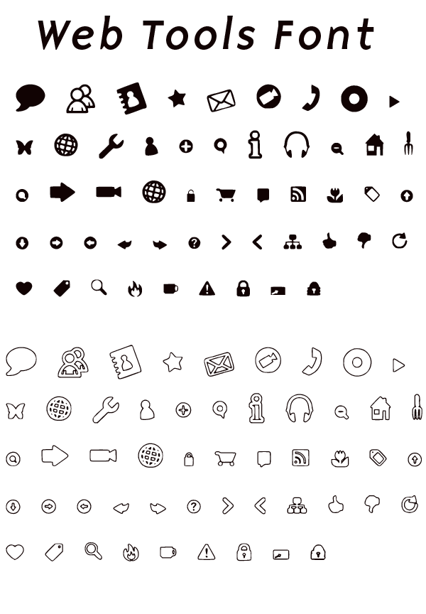 Handy Icons Free Web Font Free Web Fonts Fonts And Icons