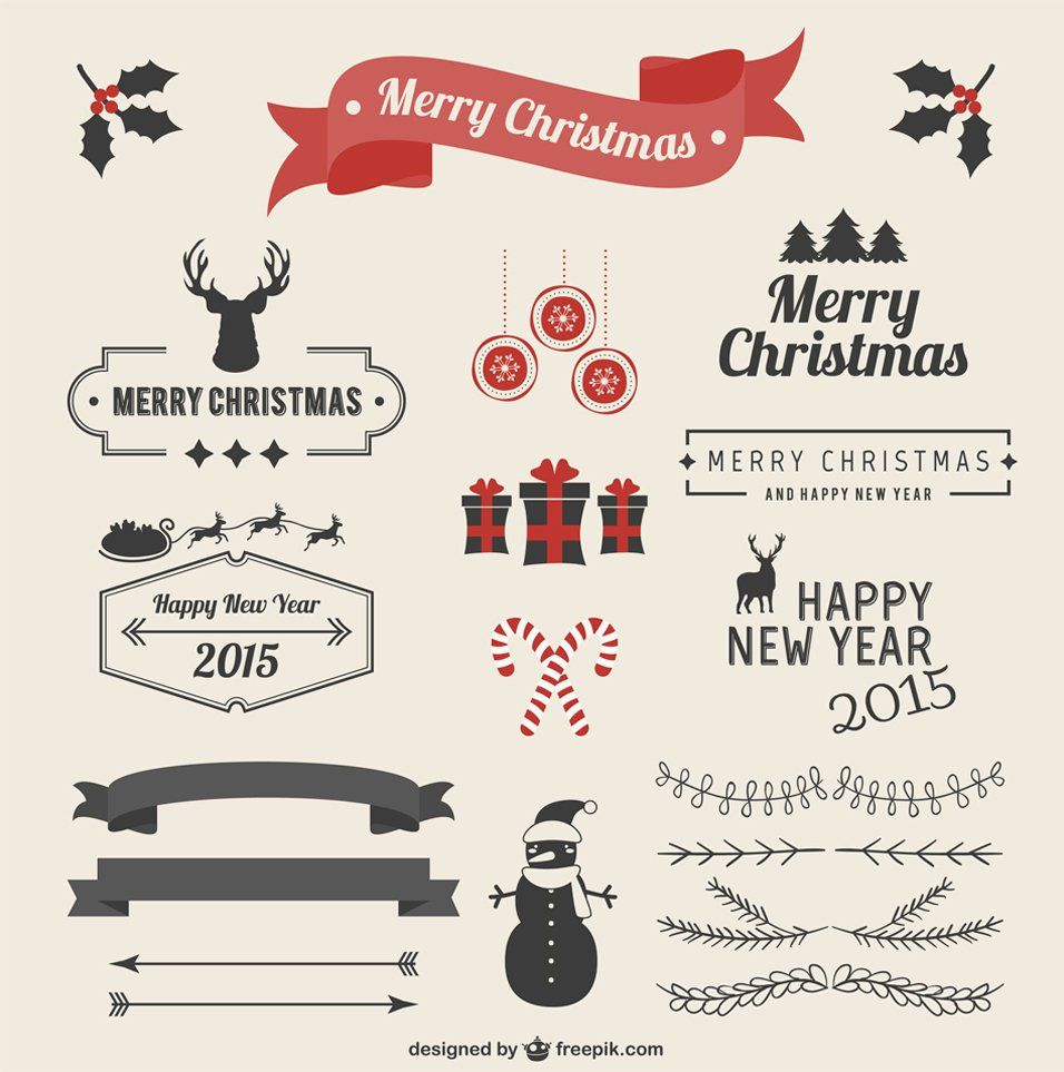 Latest Free Christmas Graphic Resources For Designers Christmas Card Design Christmas Graphics Vintage Christmas