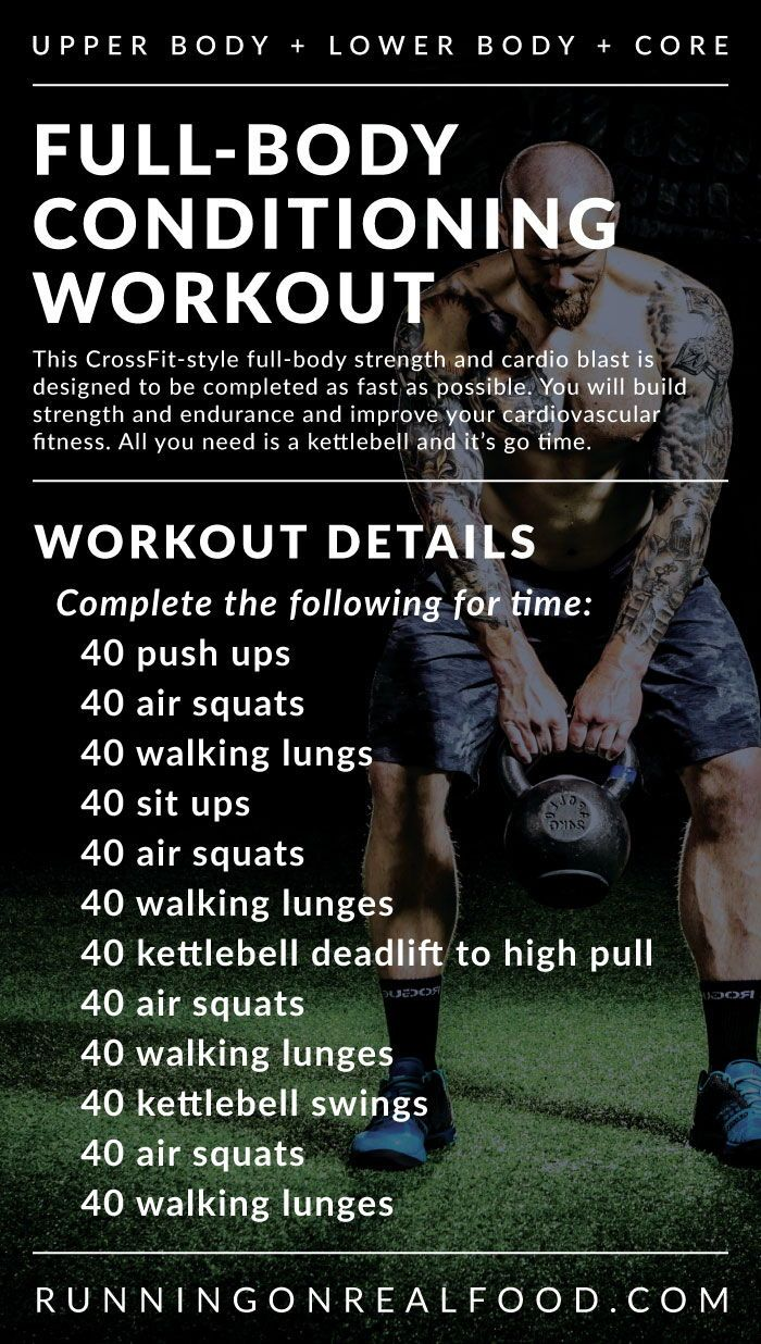 Full-Body Conditioning Workout