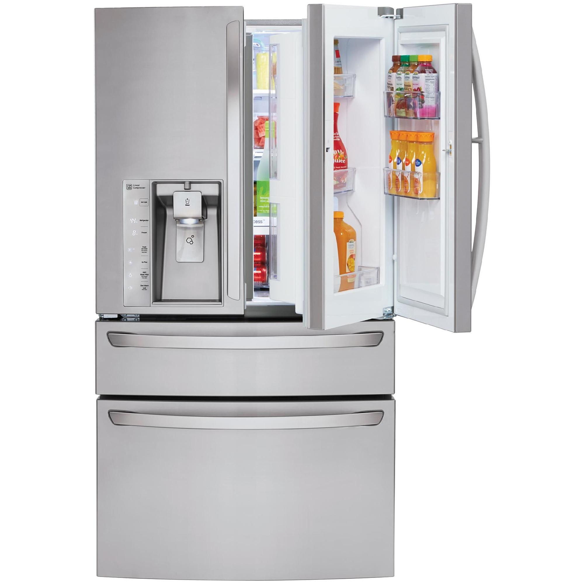 site buy refrigerator lg p steel silver doors stainless best french door