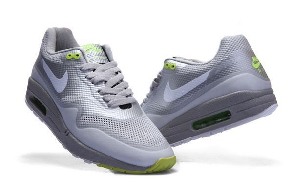 newest 4f4ab 4d3eb Pas cher France Nike Air Max 1 Homme Hyperfuse Grise Blanche Chaussures  Bordeaux Authentiques