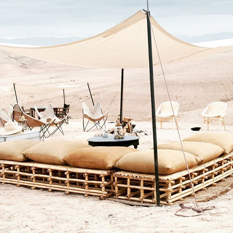 Scarabeo Camp On Instagram Friend S Gathering Set Up Incentivetravel Gettoghether Ready Desert Glampingmorocco Agafay Dakterras Architectuur Terras