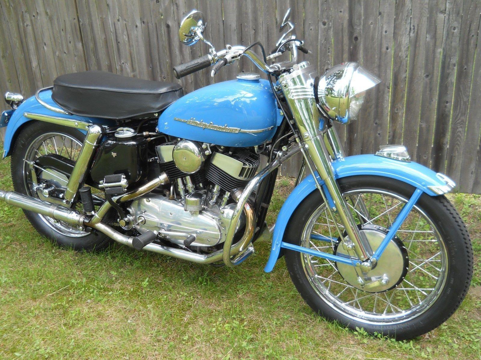 1953 Harley-Davidson K Model | Harley davidson and Hummer