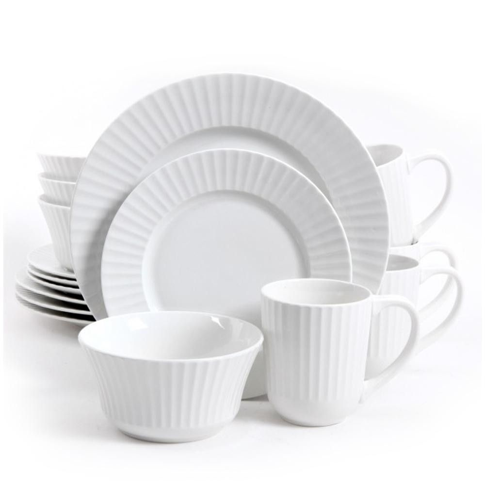 Gibson Home Excella 16 Piece Dinnerware Set  sc 1 st  Pinterest & Gibson Home Excella 16 Piece Dinnerware Set | Products | Pinterest ...