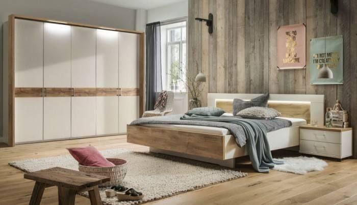 Schlafzimmer Komplett Mit Lattenrost Und Matratze   Bett Zimmer