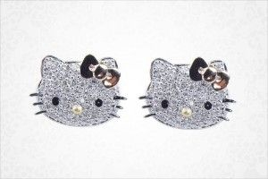 Hello Kitty Diamond Jewelry Stud Earrings Review Kaboodle