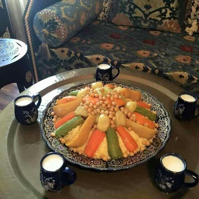 Couscous marocain Cuisine marocaine Pinterest