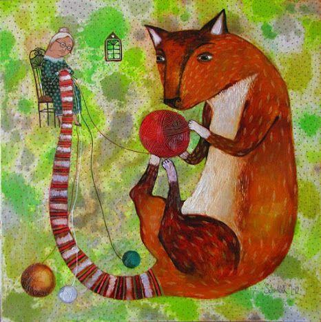 Pinzellades al món: És temps de tricotar / Es tiempo de tricotar / It is time for knitting