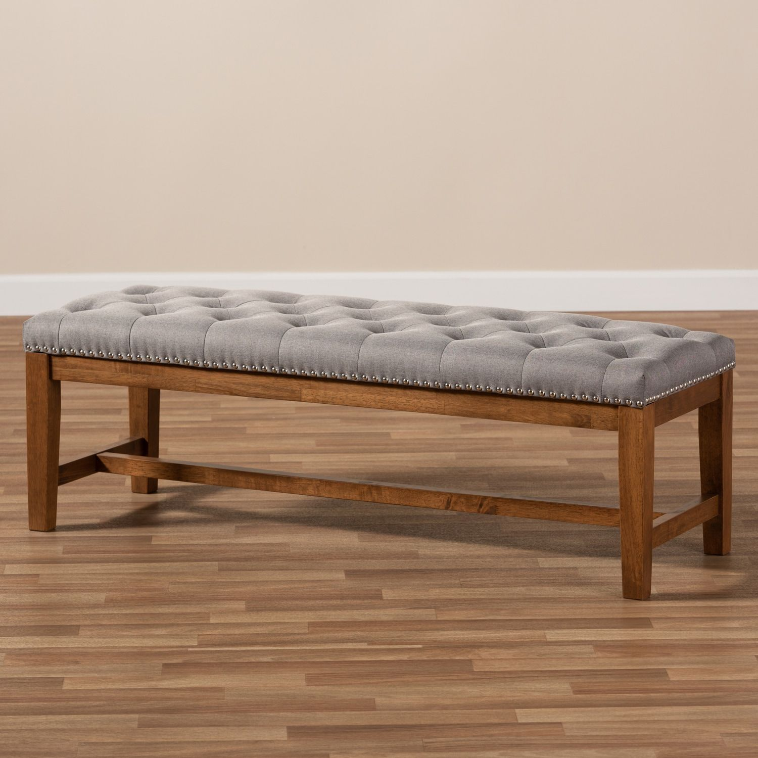 Baxton Studio Ainsley Bench Affiliate Studio Spon Baxton Bench Ainsley Living Room Seating Upholster Upholstered Bench