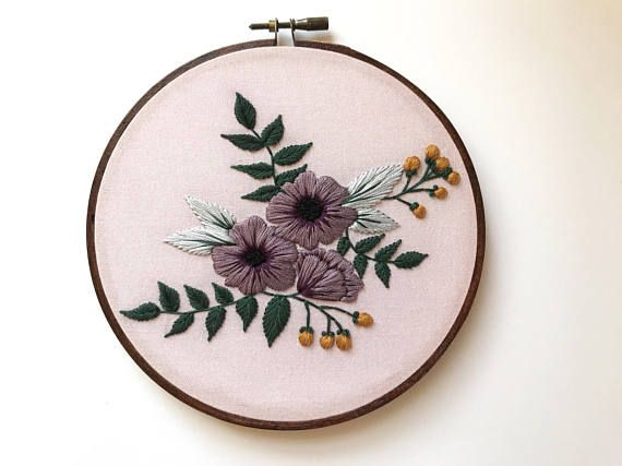 Modern Hand Embroidery Kit For Beginners Embroidery Pattern Diy