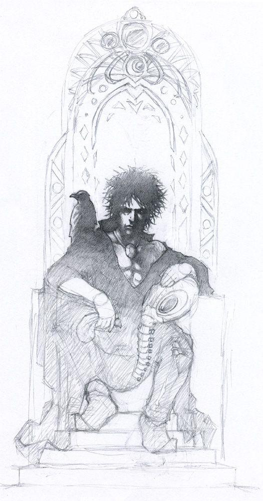 Sandman Drawing : sandman, drawing, Sandman, Theopticnerve, DeviantArt, Comic,, Gaiman,, Tattoo