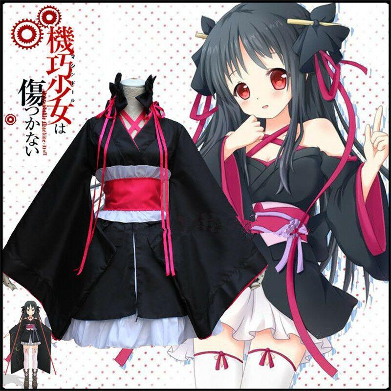 Anime MachineDoll Wa Kizutsukanai Yaya Cosplay Kinomo