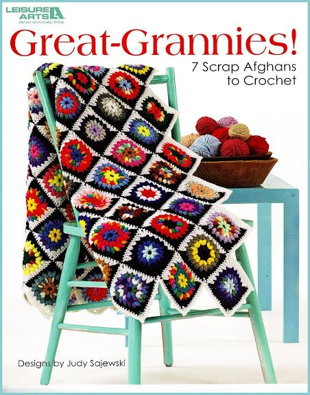 CROCHET - Leisure Arts - Lucy Sajewski - Great-Grannies! - Maria M Castells - Picasa Web Albums