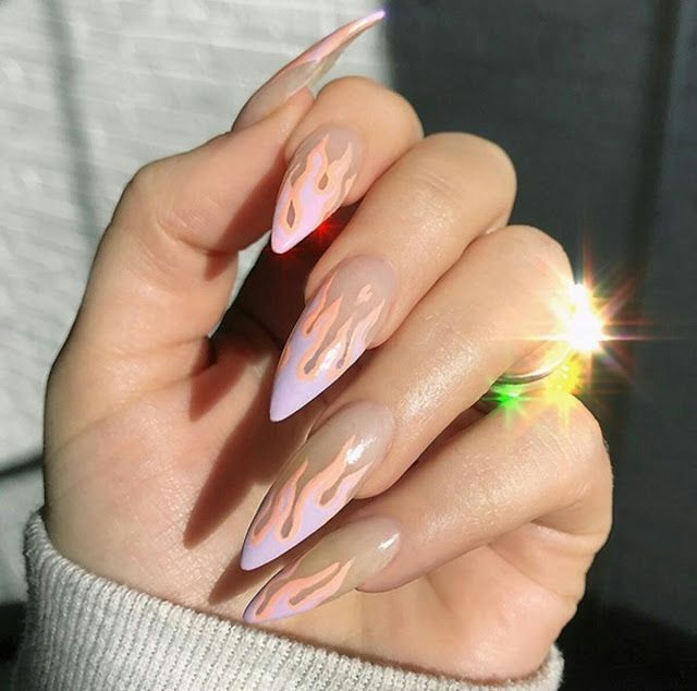 Long nail arts desgin - nails arts ideas | Nails | Pinterest | Long ...